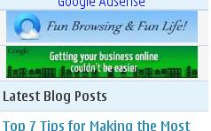 mobile adsense