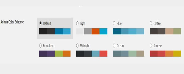 admin color scheme wordpress 3.8-1