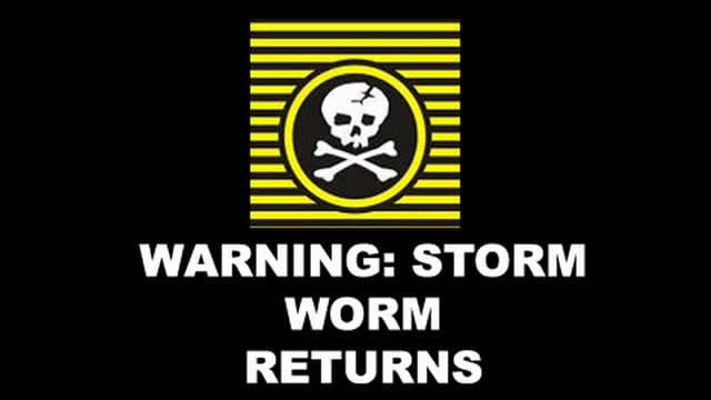 stormworm virus