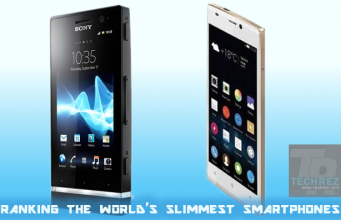 now ranking the world's slimmest smartphones