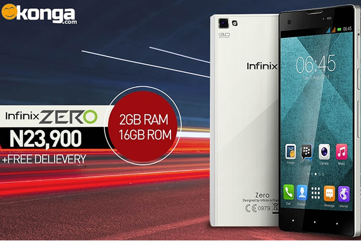 Infinix Zero 16GB Model Hits Store Shelves