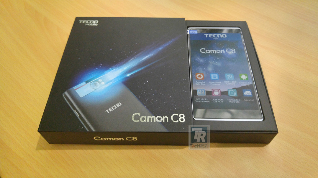 Tecno Camon C8 Unboxing And First Impression