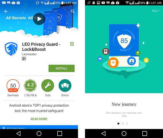LEO Privacy Guard Review: Applock For Android That Works Everytime