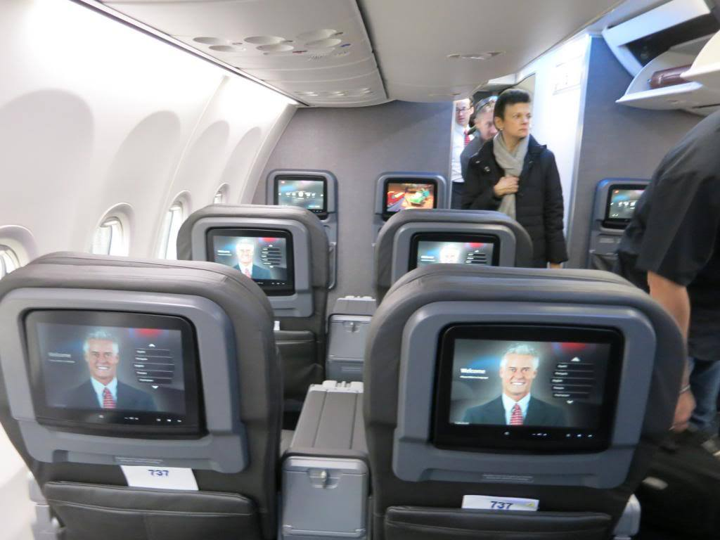 Airlines Dropping seatback Screens in favour of Passengers' own Devices
