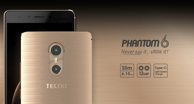 root tecno phantom 6